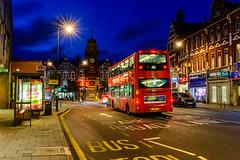 The 41 (George Plakides) Tags: crouchend broadway bus 41 starburst nightlights