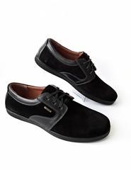 Черные мужские туфли на шнурке из натуральной замши (azzafazzara) Tags: туфли обувь