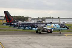 OO-SNB | Brussels Airlines | Airbus A320-214 | CN 1493 | Built 2001 | BRU/EBBR 11/10/2017 | ex D-ALTD | Home of Tintin CS (Mick Planespotter) Tags: aircraft airport 2017 sharpenerpro3 nik oosnb brussels airlines airbus a320214 1493 2001 bru ebbr 11102017 daltd home tintin cs a320 zaventem