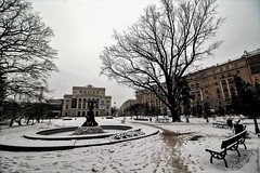 Parco dell'Opera (Ivan Zanotti Photo) Tags: riga latvia lettonia landscape sky city oldcity vecriga cityscapes dugava winter neve inverno travel balticstate natgeo natgeotravel geo
