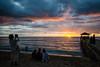 Queen´s Surf Beach, Oahu - Hawaii 08.12.17 (violetinbangkok) Tags: sunset queenssurfbeach waikiki oahu