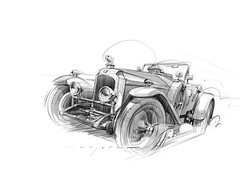 Vauxhall_3098 s (Stefan Marjoram) Tags: sketch drawing ipad pro procreate apple pencil car vintage racing plein air