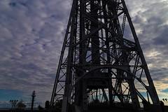Unsettled (TwinCitiesSeen) Tags: duluth minnesota aerialliftbridge bridge twincitiesseen canon6d tamron2875mm