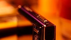 form & farbe (theflyingtoaster14) Tags: form farbe lila violett oranage rot spiegel mirror camera kamera olympus μ1050 edge rand illusion spiegelkabinett crazy verrückt sony a37 umbau vollspektrum converted full spectrum
