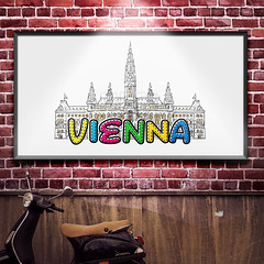 Vienna beautiful sketched icon (Hebstreits) Tags: abstract architecture art austria background building capital card cathedral church city design destination detail drawing drawn europe famous graphic hall hand historic icon illustration line monochrome monument outline pen saint sign sketch st stephen tourism tourist tower travel urban vector vienna white