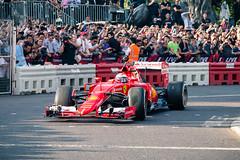F1 Live in London (Lowe_Matthew) Tags: kimi raikkonen formula one f1 london live trafalgar square ferarri loud v8 car road ferrarisf15t