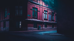 V.2.0:3 (John Drossos) Tags: cinemascope cinematic city citysnap cityscape night nightshot nightphotography minimalism minimal loneliness urban light contrast