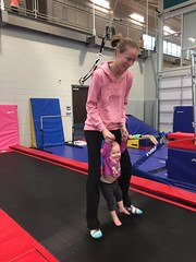 """Dani Bounces with Mommy in Her Gym Kittens Gymnastics Class • <a style=""""font-size:0.8em;"""" href=""""http://www.flickr.com/photos/109120354@N07/37662285234/"""" target=""""_blank"""">View on Flickr</a>"""