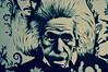 Albert Einstein (Matt From London) Tags: southkensington london einstein royalalberthall streetart scientist physicist stencil