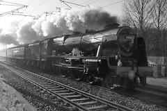 Royal Scot .....Explored (old_newstead_boy) Tags: 46100 royalscot lms 460 stanier steam locomotive railway train historic heritage carltonontrent nottinghamshire sonyslta57 tamron1750mmf28