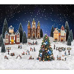Christmas Village Scene Set (mywowstuff) Tags: gifts gadgets cool family friends funny shopping men women kids home