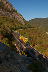 Afternoon Sun (jc_canon) Tags: conwayscenic conwayscenicrailroad csrx csrx252 emdgp38 emd gp38 notchtrain willeybrook willeybrooktrestle mountaindivision mainecentral