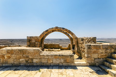Una villa nel deserto (forastico) Tags: forastico d7000 avdat israele deserto negev villa villaromana desertodelnegev nabatei