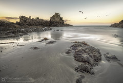 HDR Photography at Oneroa Beach, Waiheke Island, New Zealand