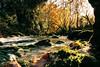 Serenity (ratorone23) Tags: calmness water sun autumn river rocks serenity