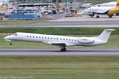 G-EMBJ - 1999 build Embraer 145EP, arriving on Runway 33 at Birmingham (egcc) Tags: 145134 bd bhx bmr birmingham egbb elmdon emb145 embraer embraer145 gembj lightroom bmiregional 145ep emb145ep