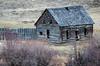 Still standing (Jessie T*) Tags: longlakeroad knutsfordbc canada old logcabin grass lateautumn derelict fence