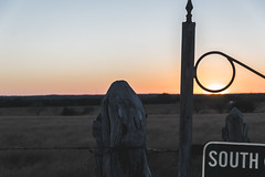 South (KevinHillPhotography) Tags: open road roads texas route noon evening sunset sunsets gravel rocks fields view landscape