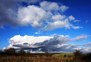 Clouds over Cissbury Ring 3