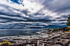 Stormy Day (Chatham Sound) Tags: canada britishcolumbia 124 stormyskies gale weather water nikond810 pacificnorthwest