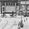Winter (Akbar Simonse) Tags: denhaag thehague agga haag lahaye sgravenhage zeeheldenkwartier winter sneeuw snow cyclists fietsers fietsen bicycles streetphotography straatfotografie stad urban people zwartwit bw blancoynegro bn monochrome vierkant square akbarsimonse