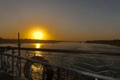 Puesta de sol en el Nilo (Porschista) Tags: nilo egipte sunset puestadesol postadesol ocaso rio crucero princesssarah