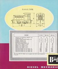 1953 Bagnall Diesel Mechanical Locomotives Brochure (Daveynorth) Tags: bagnall diesel mechanical locomotives stafford castle engine works 040 060 industrial leaflet brochure 1953