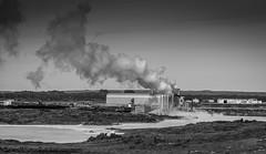 Geothermic (Robgreen13) Tags: red industrial urban geothermic blaalonio iceland bw mono grindavik