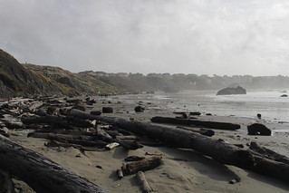 The view on the other side of Coquille Point