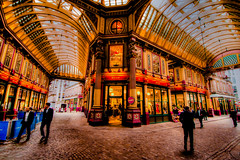 A location used in Harry Potter (Jonathan Vowles) Tags: hdr london market harrypotter