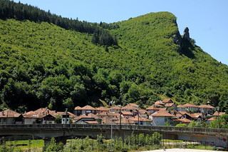 The last Serbian town before Montenegro
