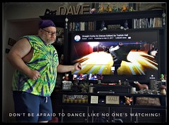 7/21/17 - Don't be Afraid to Dance like No one's Watching! (CubMelodic23) Tags: july 2017 me dave selfportrait dancing dance hippie
