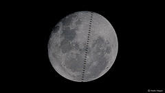 International Space Station Moon transit time-lapse (Martin_Heigan) Tags: iss internationalspacestation transit transiting lunar moon d500 200500mm nikon nikkor timelapse video astronomy astrophotography martin heigan southafrica autostakkert videostacking science cameralensastrophotography dslr astroimaging backyardastronomy silhouette silhouettedagainstthemoon