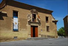 Museo de Huesca (Aragón, España, 23-4-2017) (Juanje Orío) Tags: 2017 huesca provinciadehuesca aragón españa espagne espanha espanya spain museo bandera flag escudo biendeinteréscultural