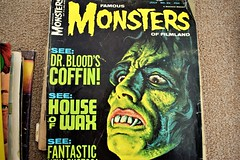 Old monster magazine (thomasgorman1) Tags: magazine monsters nostalgia used nikon cover art pulp horror 1967 monster green