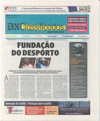 Fundação do Desporto em destaque no Diário de Notícias