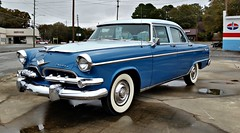 Dodge Custom Royal (Dave* Seven One) Tags: dodgecustomroyal dodge 1955 1950s classic vintage chrome whitewalls