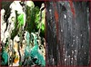 my paintings   lost souls and blood shed (Sonja Parfitt) Tags: acrylic paintings absract