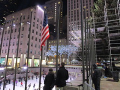 2017 Christmas Tree Rockefeller Center NYC 3647 (Brechtbug) Tags: 2017 christmas tree rockefeller center before lights 11112017 nyc 30 rock new york city standing up above ice rink with snow shoveling workers skating holiday decoration ornaments night lites light oversize load ornament prometheus gold mythological statue sculpture fountain fountains scaffolding scaffold pre thanksgiving