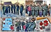 Rememberence Day 12.11.2017 (Mike-Lee) Tags: remembranceday remember sheffield nov2017 yas ambulance collage picasa poppies poppy sunny chilly parade