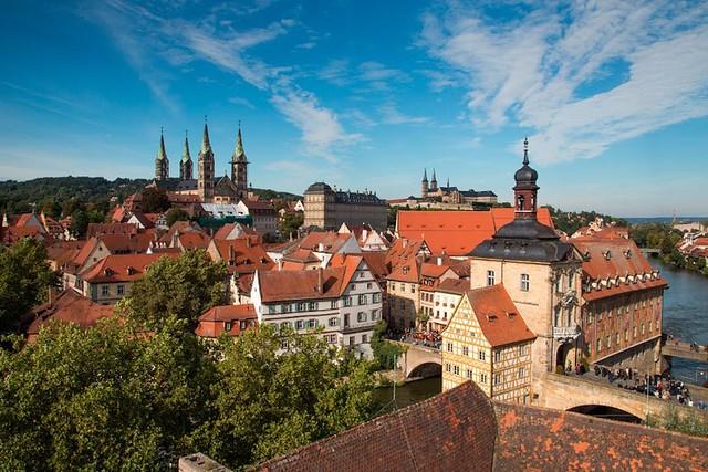 2つの世界遺産バンベルクとヴュルツブルク(ロマンチック街道のオプショナルツアー)