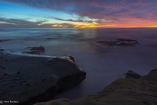 Windansea sunset soft 12-9-17