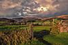 Sheepstor (Frosty__Seafire) Tags: sheepstor burrator dartmoor landscape cross process d7000 sigma 1020 farming agricultural rural fence gate