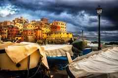 A rainy Sunday (agoralex) Tags: autunno genova borgo boats clouds cielo agoralex storm sea pioggia boccadasse nuvole rain barche