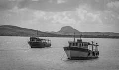 CUBA2017_90 (Dylon87) Tags: daytrip friends family memories vacation fun great gibara fishing town getaway bed breakfast travel holguin cuba boats boat beach landscape desaturated black white photo pic photographer photography teamcanon canon shotoncanon canoncanada