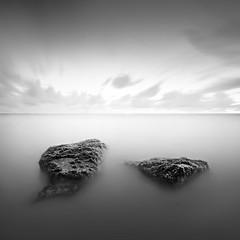 DSC_43461 (pattana92392) Tags: seawave sea longexposure coast water fineart stone blackwhite