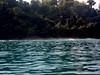 En la Reserva Biológica Isla del Caño/ Nearing Caño Island Biological Reserve (vantcj1) Tags: espuma mar naturaleza rompiente vegetacion isla arrecife