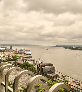Quebec City harbour front