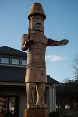 DSC_7808 (Copy) (pandjt) Tags: chilliwack bc britishcolumbia stólō stolo yakweakwioose firstnation yakweakwioosefirstnation terryhorne chiefterryhorne welcomefigures welcome sculpture carving publicart