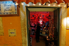 in every door - FADO (ignacy50.pl) Tags: music singers player concert tradition portugal lisbon nightlife citylife travel restaurant bars